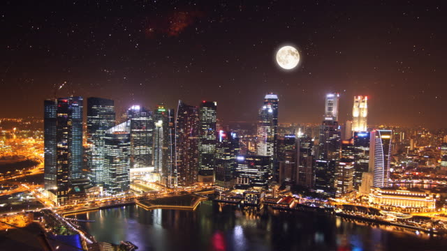Time lapse of Singapore