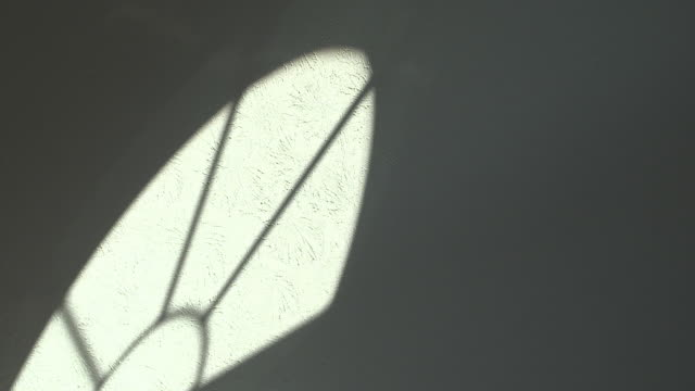 Time Lapse of Sunlight Shadow Through Home Window