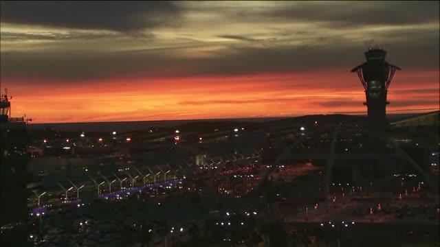 KTLA Time Lapse of Sunset Near LAX
