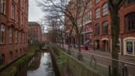 MANCHESTER: Time Lapse of the Gay Village in Manchester