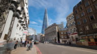 LONDON: Time Lapse of the Shard and London Borough