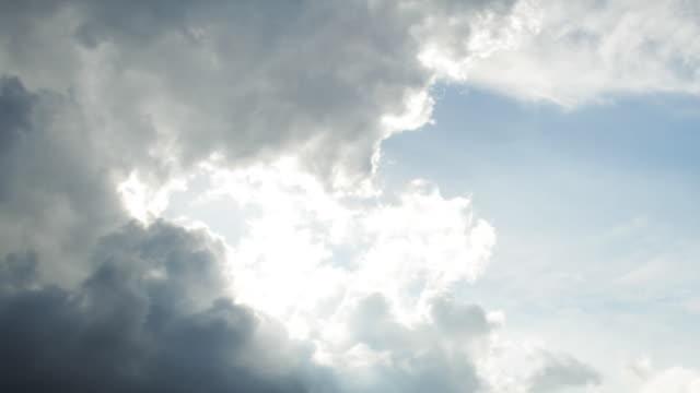 Time Lapse: Rolling Panorama di nuvole