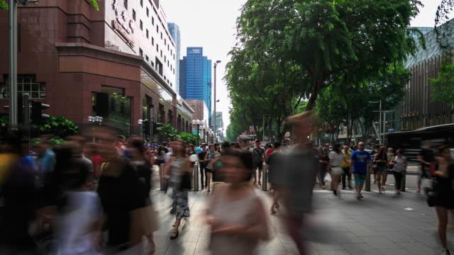 4K Time Lapse : Rush Hour Singapore