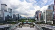 Time Lapse - Shenzhen Skyline (Zoom In)