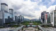 Time Lapse - Shenzhen Skyline (Panning)