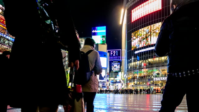 HD Time lapse : Shibuya crossing