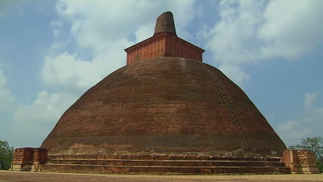 Time Lapse Shot Jetavana Anuradhapura North Central Province Sri Lanka