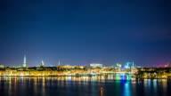 HD Time Lapse: Stockholm Cityscape