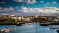 Time Lapse: Stykkisholmur Harbor - Iceland