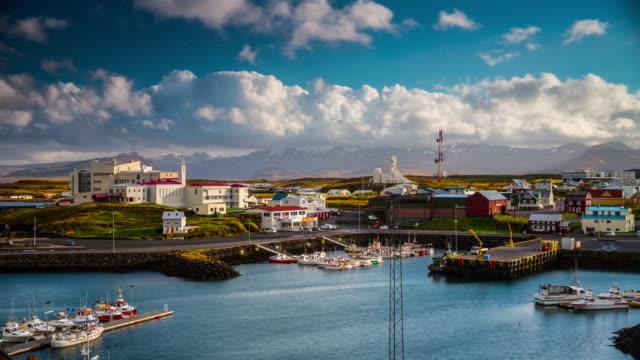 Intervallo di tempo : Porto di Stykkisholmur-Islanda