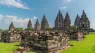4K Time Lapse : Temple of Prambanan