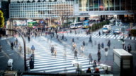 Time-lapse. Tokyo. Station Shibuya - Stock video - Stock Video