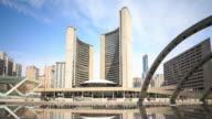 4K Time Lapse : Toronto City Hall
