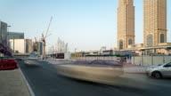 Time Lapse traffic in Dubai