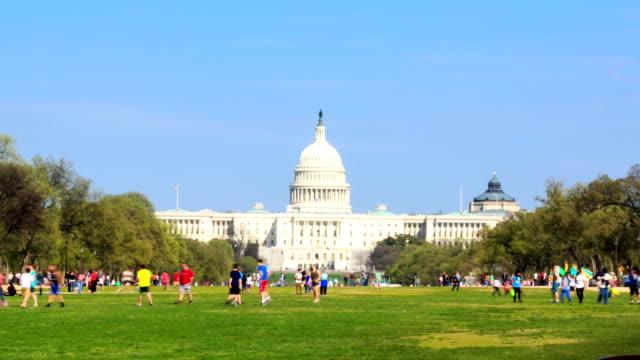 HD-Zeitraffer: US-Kapitol in Washington, DC