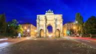 4K Time Lapse : Victory Gate in Munich