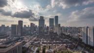 Time lapse video of Chengdu City