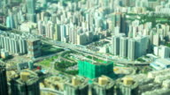 Time Lapse Video of Hong Kong Highway (Tilt shift)