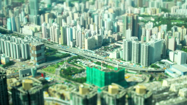 Time Lapse Video of Hong Kong Highway (Tilt shift)