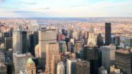 4 K Zeitraffer: Blick auf Manhattan