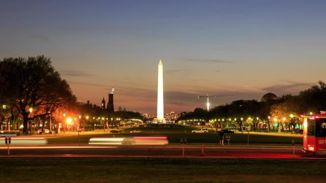 4K Time Lapse : Washington Monument
