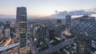 Time Lapse-Beijing Skyline