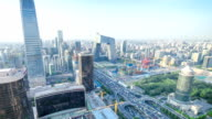 time lapse-panorama of Beijing