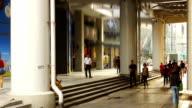 Time lapse,Pedestrian