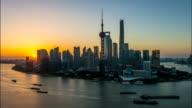 Time Lapse-Shanghai Bund Sunrise