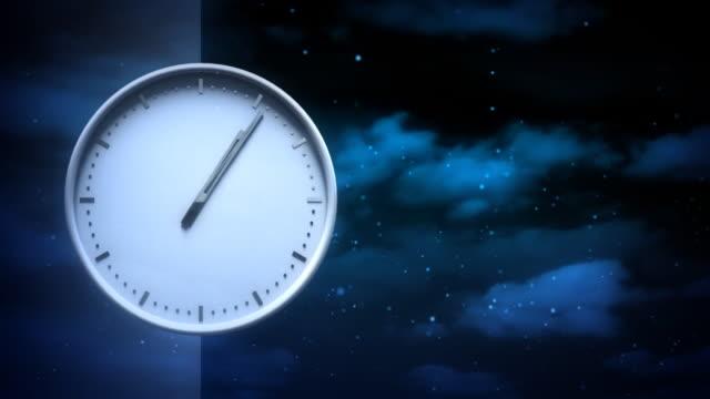 Zeit. Endlos wiederholbar Hintergrund