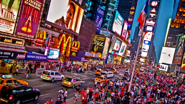 Time square de new york film vid o getty images for Exterieur nuit film