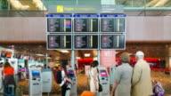HD Time-lapse: Airport Passenger Terminal