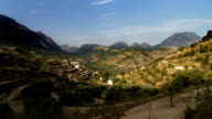 timelapse Aitana mountain range Alicante Spain evening