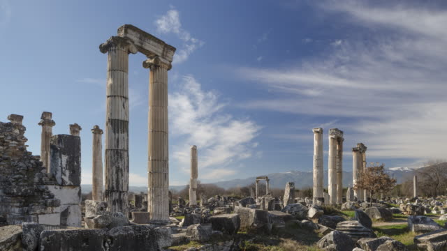 Time-Lapse Aphrodisias, Turkey