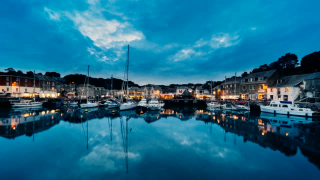 Time-lapse at Padstow Harbour, Cornwall, UK