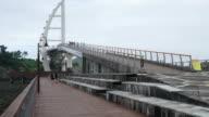timelapse op Saeyeongyo brug in Jeju