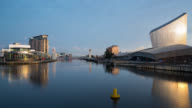 MANCHESTER: TimeLapse at the media city centre