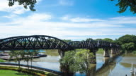 4K Timelapse: Bridge on the River Kwai