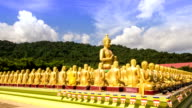 HD Timelapse: Buddha in the temple