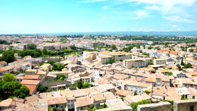Time lapse in HD: Carcassonne paesaggio urbano Francia
