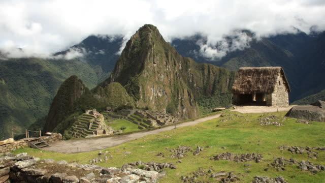 Timelapse Caretaker Hut Machu Picchu
