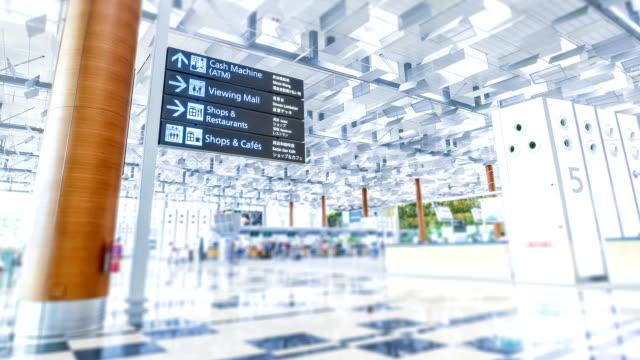 Time-lapse Changi Airport Terminal 3