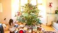 Timelapse: Christmas morning