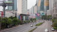 4K time-lapse City day to night metropolis Bangkok business area