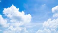 4K Timelapse: Cloud in summer.
