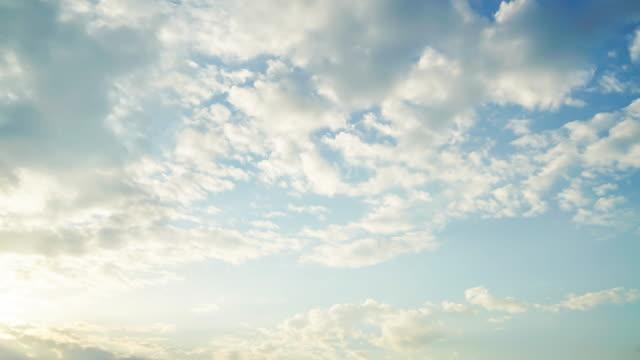 timelapse cloud on the sky