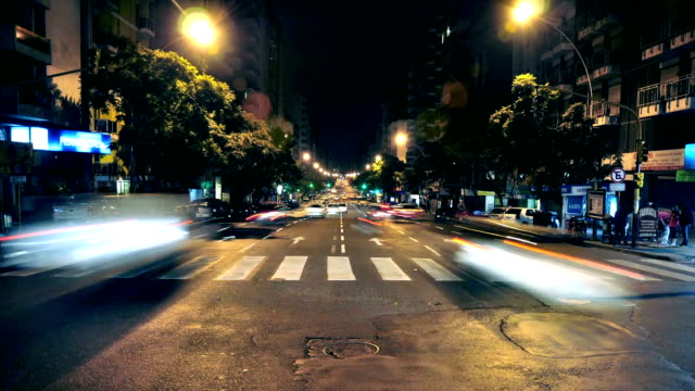 timelapse Córodba Argentina city avenue with traffic 1