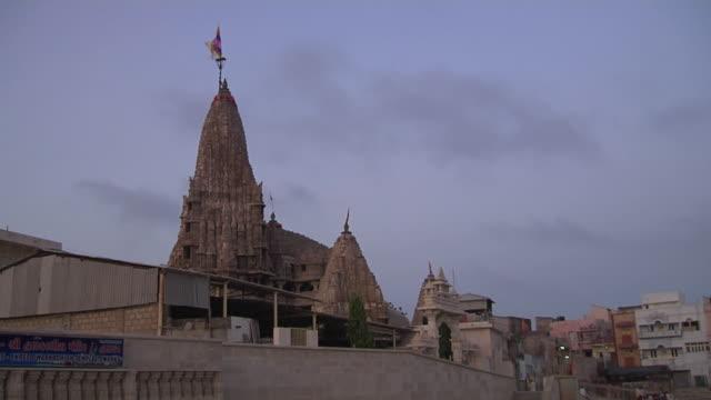 Timelapse dwarka temple jamnagar gujarat