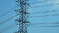 Zeitraffer: Elektrische Hochspannung