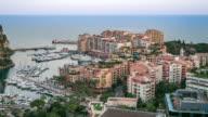 Time-lapse: Fontvieille Monaco Monaco French Riviera